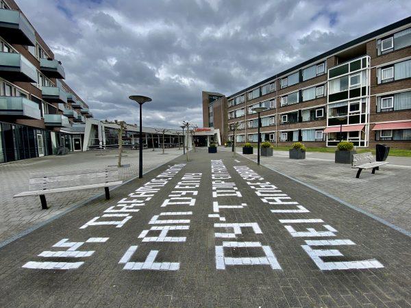 Dichtregels in Fryslân fan boppen
