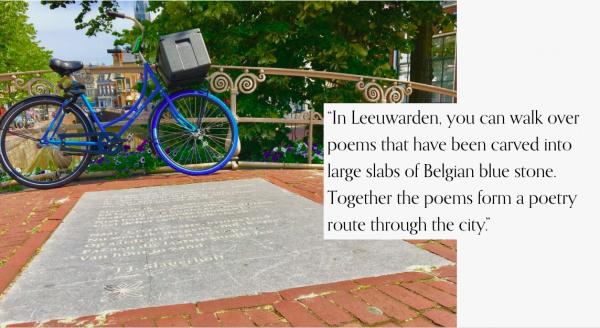 Reis digitaal door de poëzie van de Cities of Literature