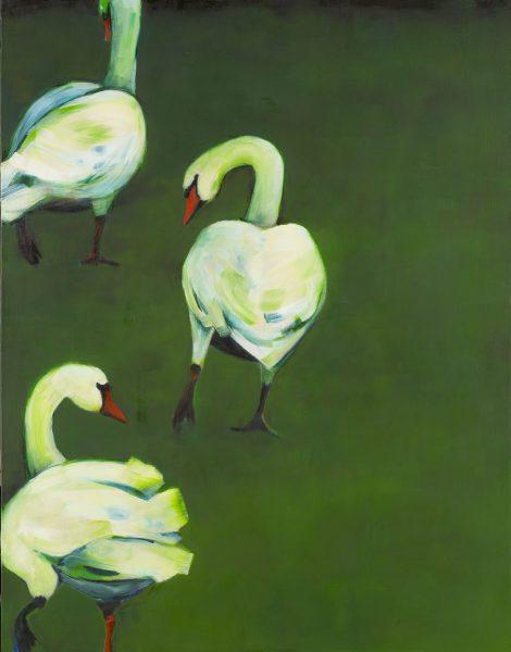 Gedichten Eppie Dam en schilderijen Janine van Zeeland in expositie Een dier is ook maar een mens